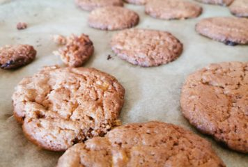 Coffee-White-Chocolate Cookies